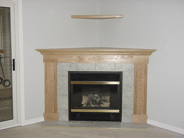 GAS FIREPLACE CORNER UNIT – Fireplaces